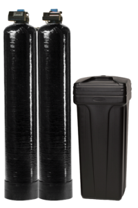 C and J Water twin water softeners