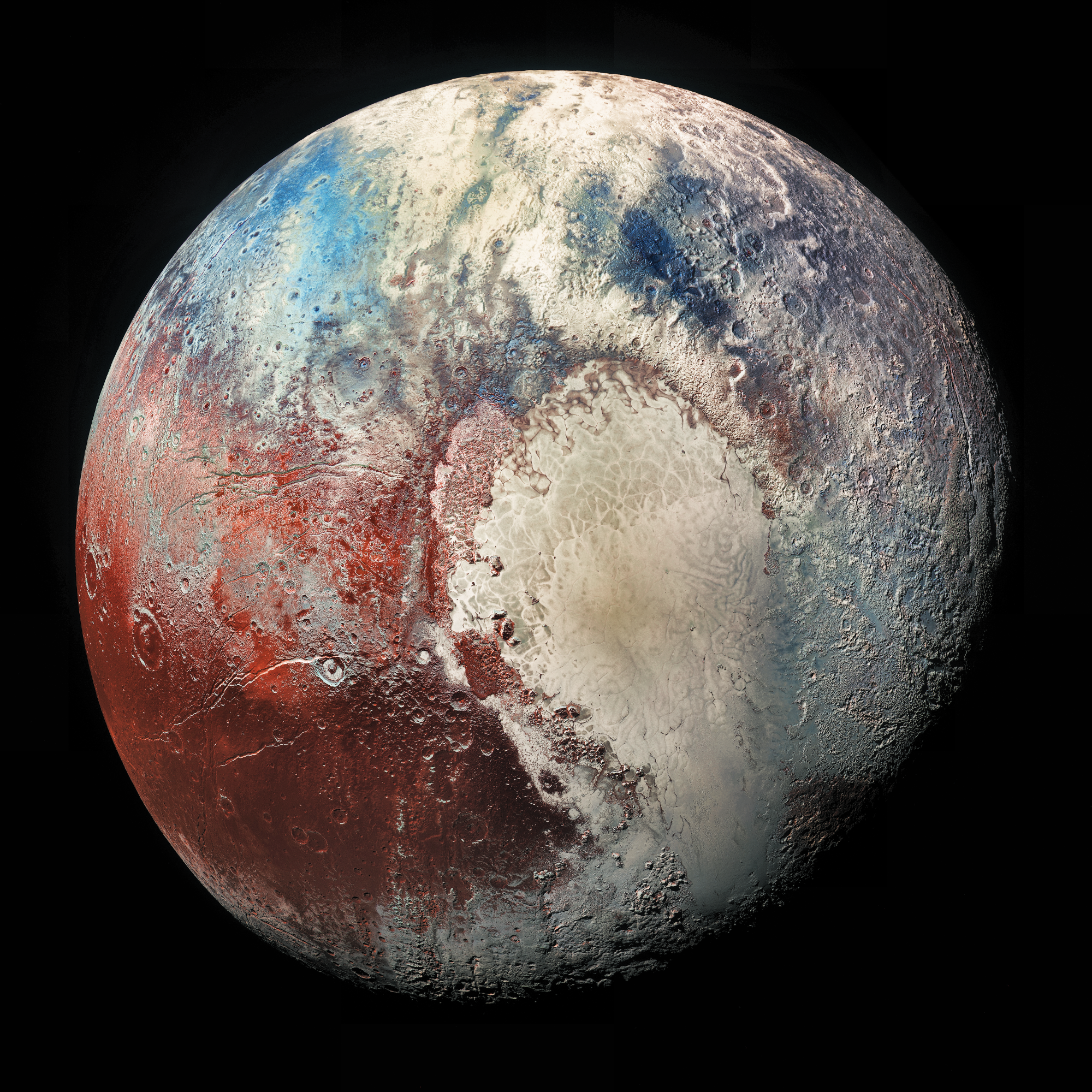Picture of the planet Pluto