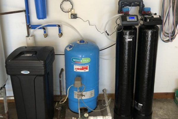 water heater and water softener