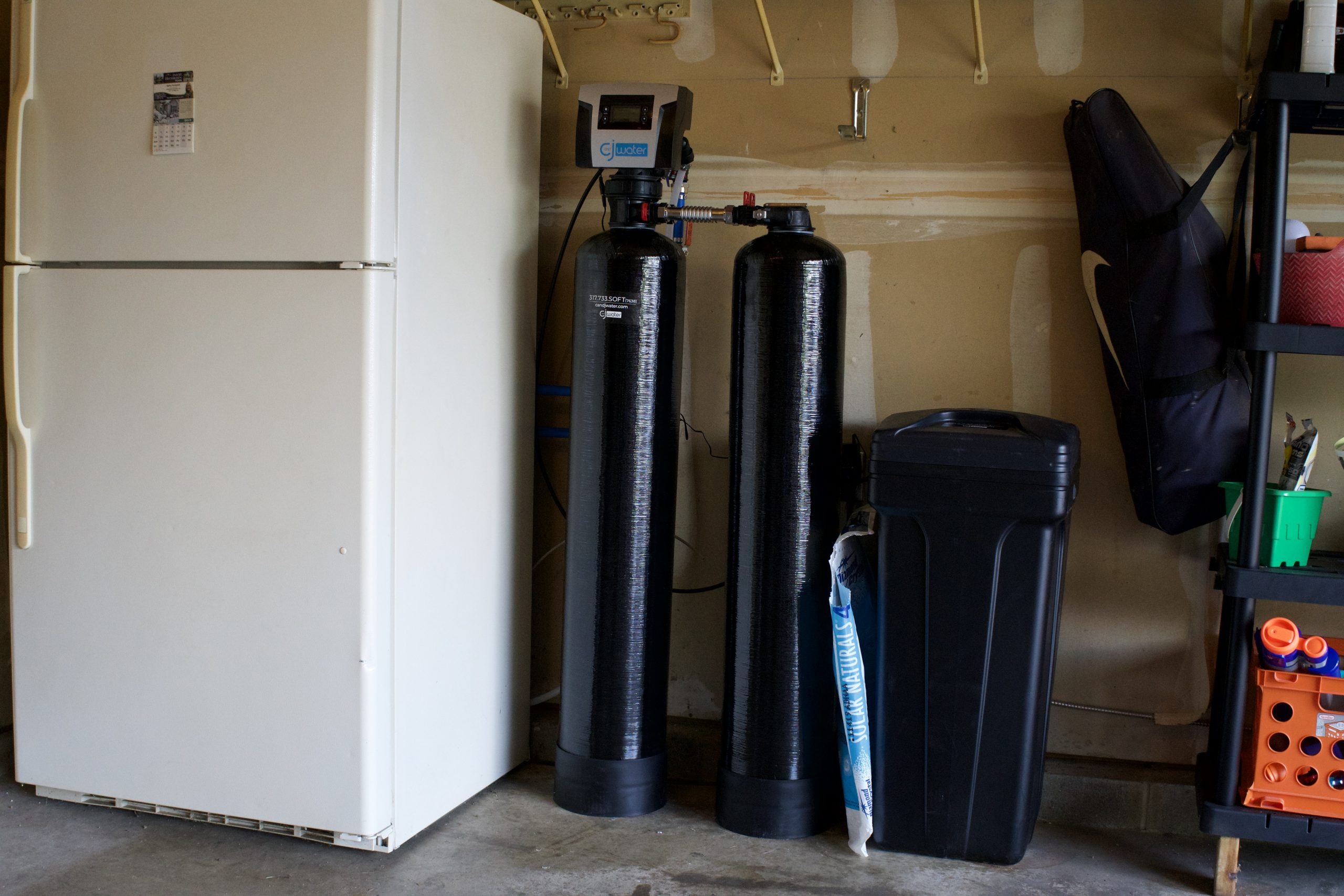 Fishers water softening soltuions
